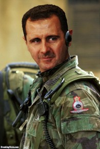 Bashar-Al-Assad-in-Soldier-Uniform--92463