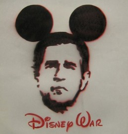bs.as.stncl Disney War (2001)