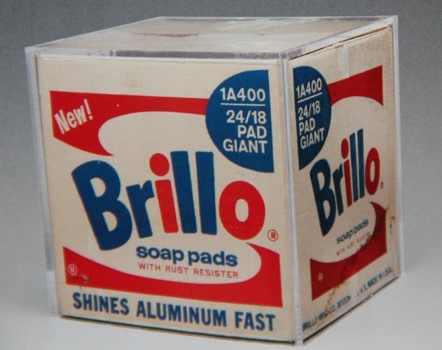 Andy Warhol, Brillo Box (1964)