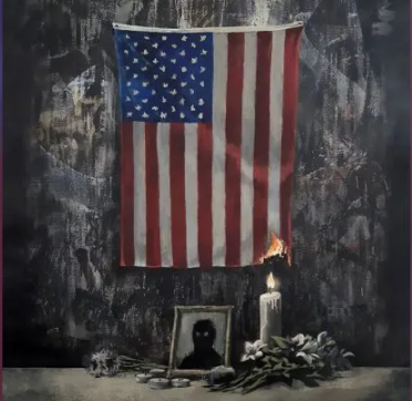 Banksy, Homenaje a George Floyd (2020)